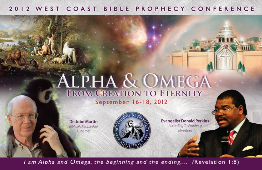 2012 According To Prophecy Ministries West Coast Bible Prophecy Conference