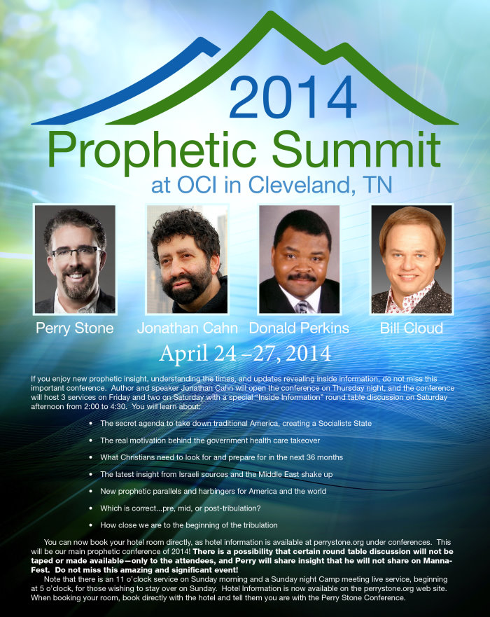 Perry Stones Ministries Present's The 2014 Prophetic Summit