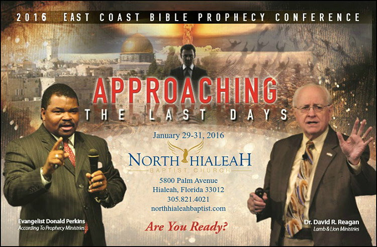St. North-Hialeah-Baptist-Church Bible Prophecy Conference