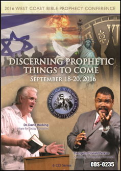2016 West Coast Bible Prophecy Conference 6 Cvd Series