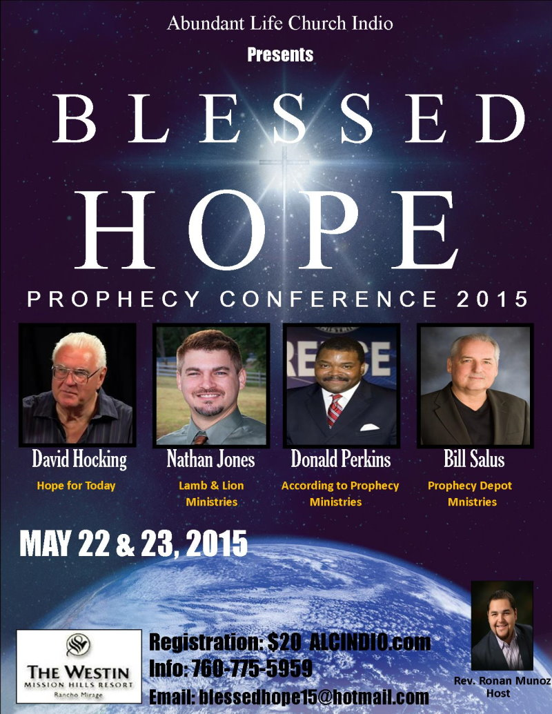 Abundant Life Church Indio Prophecy Conference