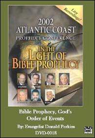 BIBLE PROPHECY GOD'S ORDER OF EVENTS DVD