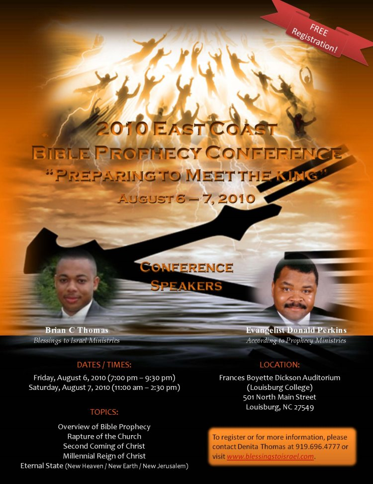 2010 East Coast Bible Prophecy Conference