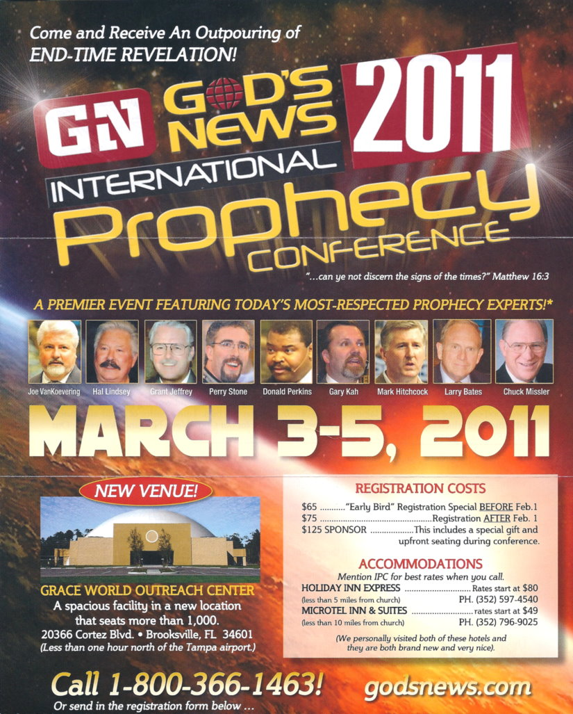 God's News Behind the News 2011 International Prophecy Conference