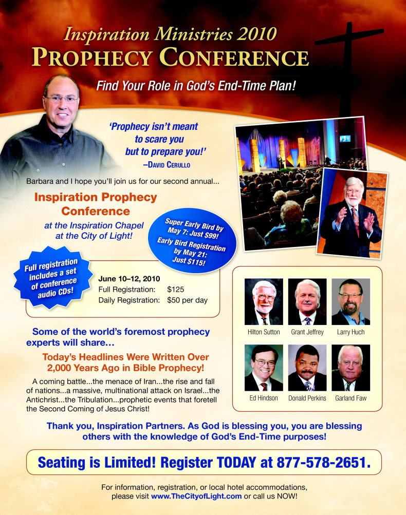 Inspiration Ministries 2010 Prophecy Conference