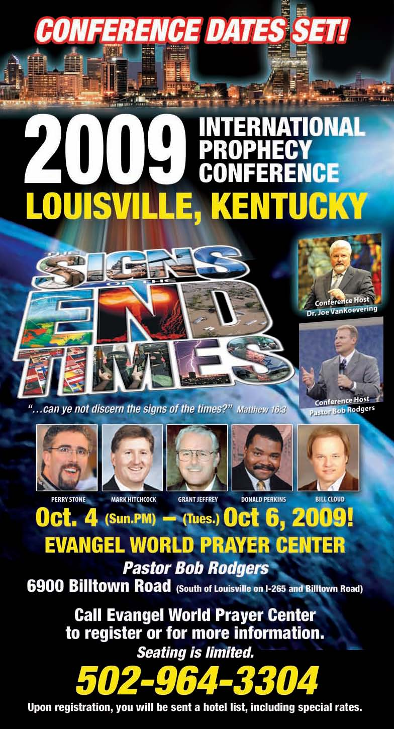 God's News Behind the News 2009 Bible Prophecy Conference