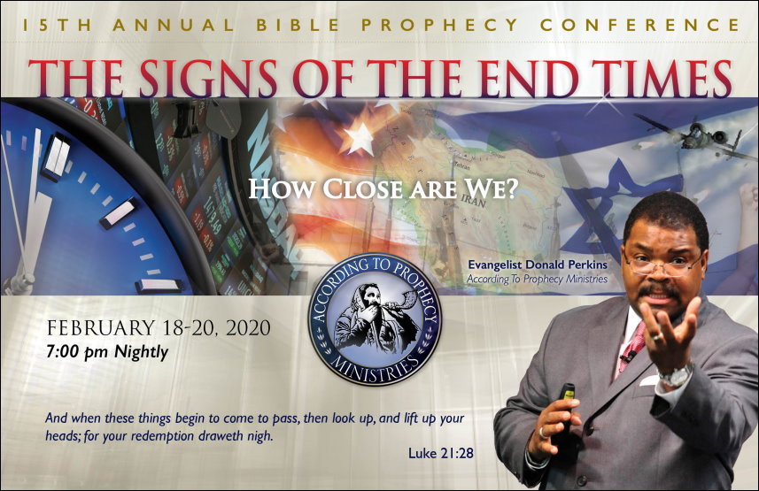 2020 Mesa View Baptist Church Bible Prophecy Conference