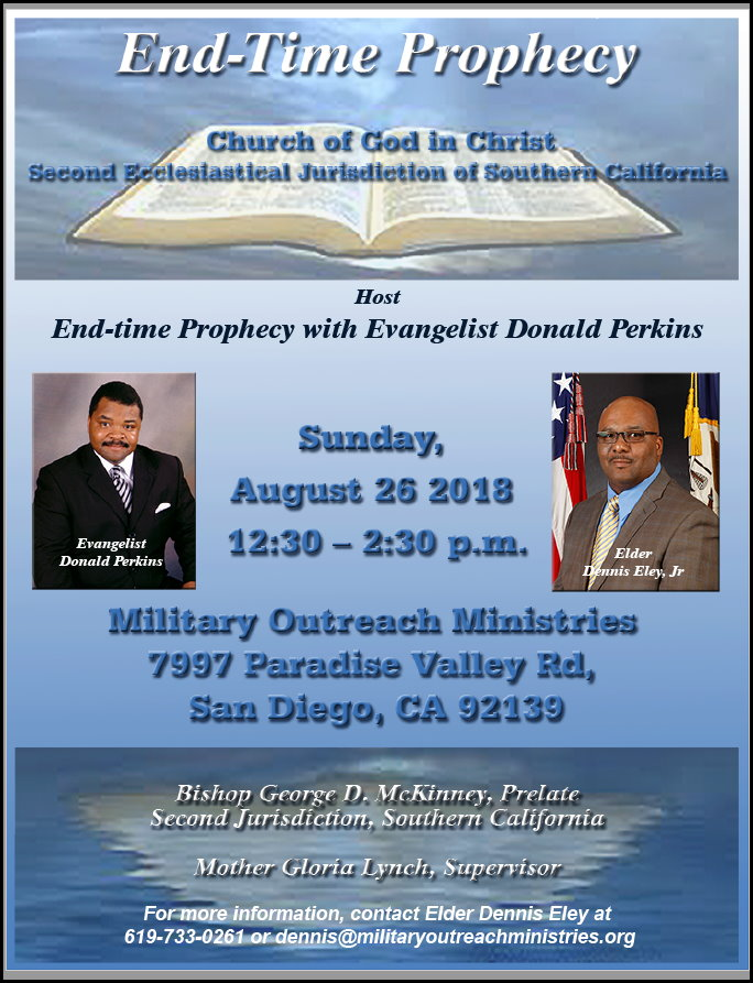 2018 Military Outreach Ministries Bible Prophecy Meeting