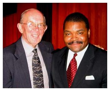 Dr. Arno Froese &amp Evangelist Perkins at the 9th Annual Pre-Trib Conference