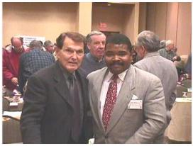 Dr. Tim LaHaye &amp Evangelist Perkins at the 9th Annual Pre-Trib Conference