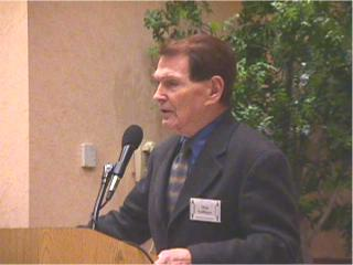 Dr. Tim LaHaye at the 9th Annual Pre-Trib Conference